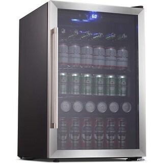 Link to Beverage Cooler Refrigerator 128 Can 37 bottle Mini Fridge Similar Items in Large Appliances