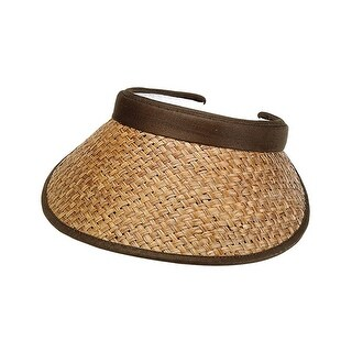 Top Headwear Straw Clip-On Visor