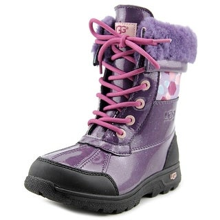 Ugg Australia Butte II Round Toe Leather Snow Boot
