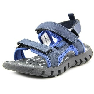 Osh Kosh Tyde-G Youth Open Toe Canvas Blue Gladiator Sandal