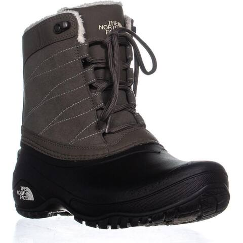The North Face Stormkat Winter Boots, Brown/Vintage White