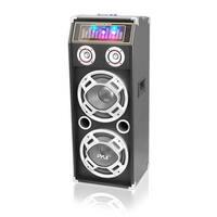 TW7067 1000W Disco Jam Powered Two-Way Bluetooth Speaker System wit