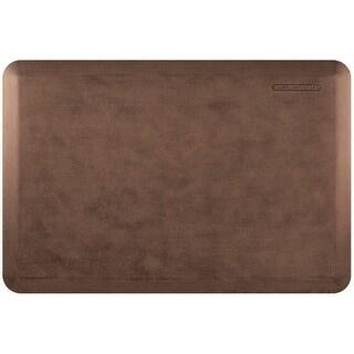 """WellnessMats Antique Linen Anti-Fatigue Mat, Antique Light, 36"""" by 24"""""""
