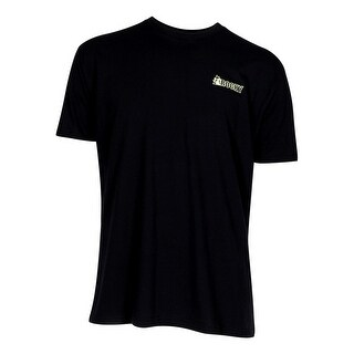 Rocky Western Shirt Mens S/S Broadhead Logo Camo Tee Black LW00068