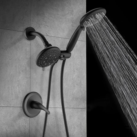 Proox 3 Way Rainfall Shower Faucet System Handheld Shower Combo Set
