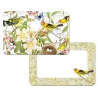 Counter Art CART45702 Botanical Birds Reversible Placemat