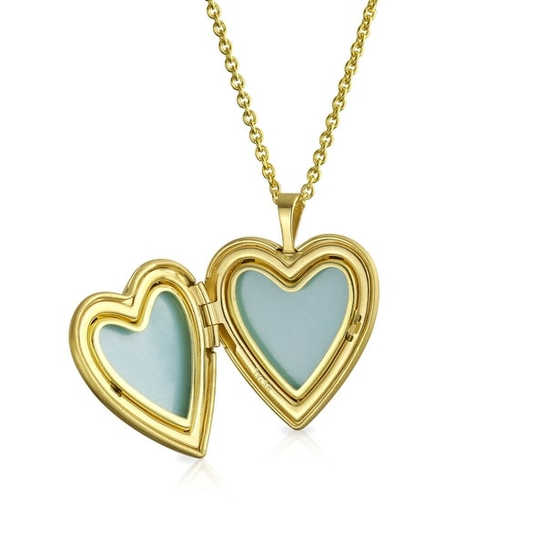 10K Gold Filled With Love Mom Heart Engravable Necklace by JEWLR