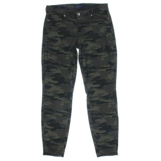 Lucky Brand Womens Sofia Mid-Rise Camouflage Skinny Jeans - 4