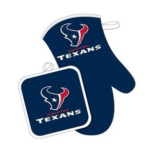 Houston Texans Oven Mitt And Pot Holder