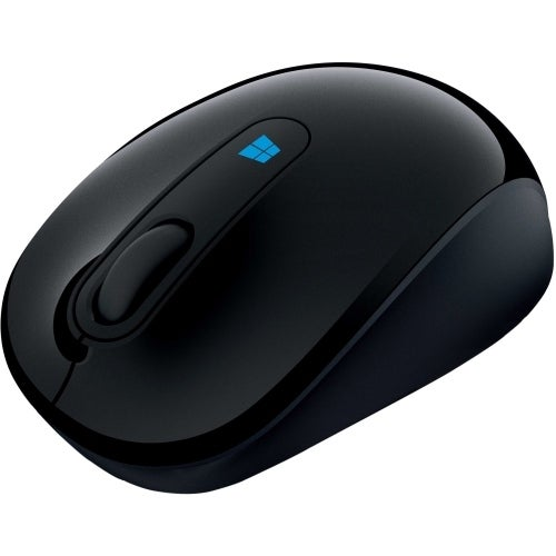 """Microsoft 43U-00011 Microsoft Sculpt Mobile Mouse - BlueTrack - Wireless - Radio Frequency - Wool Blue - USB 2.0 - 1000 dpi -"
