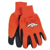 McArthur 9960690662 Denver Broncos Two Tone Adult Size Glove