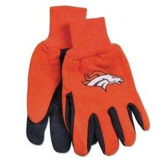 McArthur 9960690662 Denver Broncos Two Tone Adult Size Glove