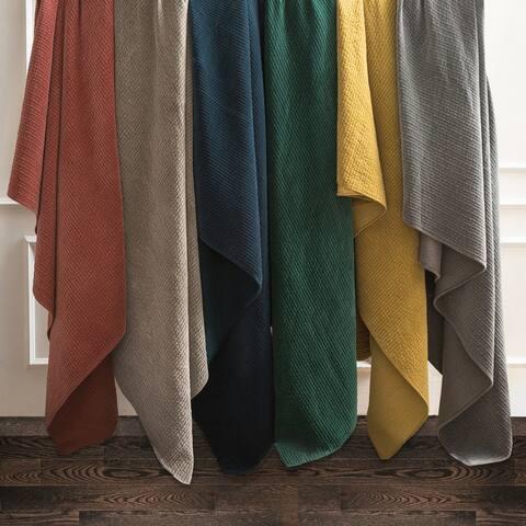 Stonewashed Cotton Velvet Quilt (Queen/King) - 6 Colors
