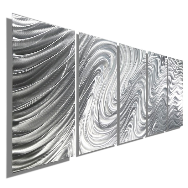 Shop Statements2000 Silver Large Metal Wall Art Sculpture Panels by ...