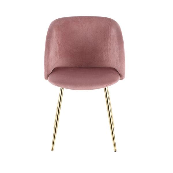 Fran Velvet Upholstered Dining Chairs (Set of 2). Opens flyout.