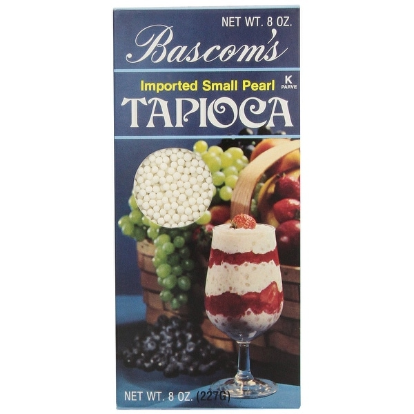Bascom Tapioca - Small - Case of 12 - 8 oz