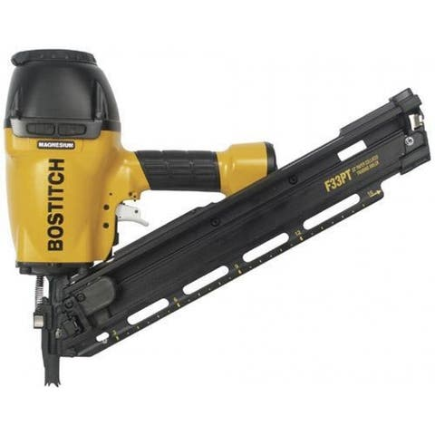 Bostitch F33PT Paper Tape Framing/Metal Connector Nailer, 33 Degree