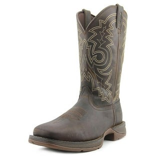Durango Rebel Pull On Men 2E Round Toe Leather Brown Western Boot