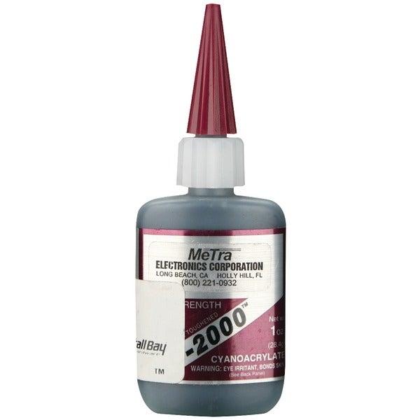 Install Bay Ic-2000 Instant Rubber Tough Black Glue, 1Oz