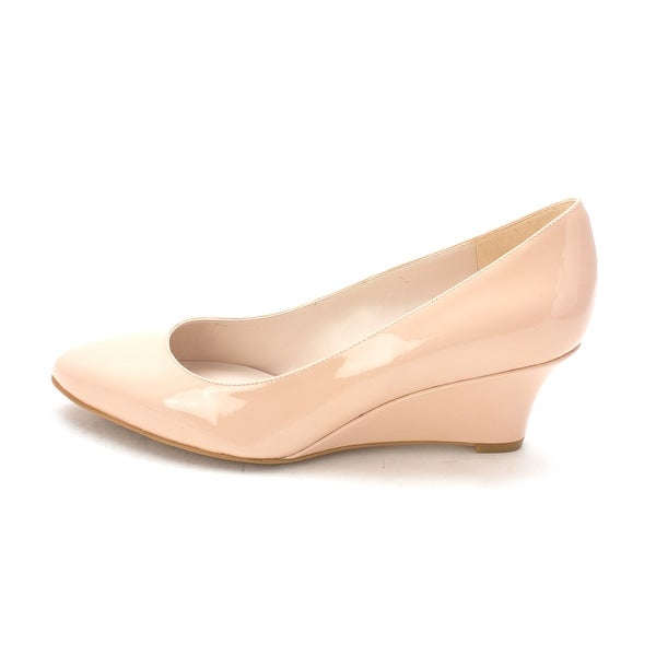 Cole Haan Womens Jaliyahsam Closed Toe Wedge Pumps - 6
