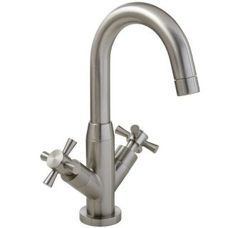 Mirabelle MIRWSML102 Milazzo Single Hole Bathroom Faucet - Free Pop-Up Drain Assembly with purchase
