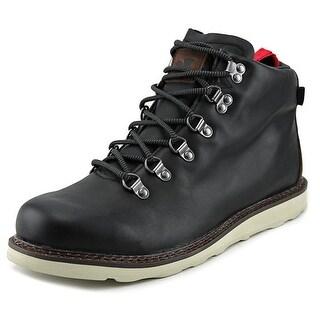 DVS Yodeler Men Round Toe Leather Black Chukka Boot