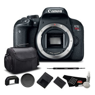 Canon EOS Rebel T7i DSLR Camera Bundle (Body Only)