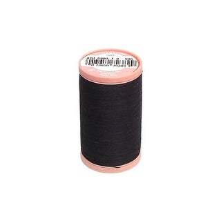 S980 0900 Coats Cotton Hand Quilting Thread 350yd Black
