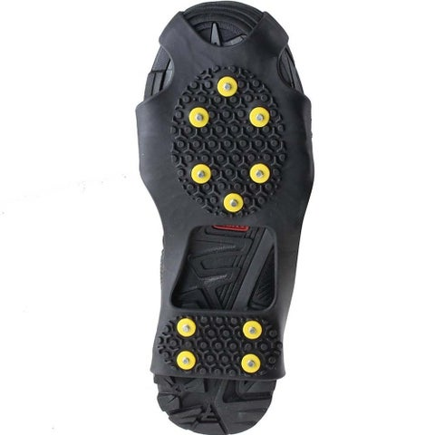 Ice Cleats Snow Grips Anti Slip Walk Traction Shoes Chains Crampons