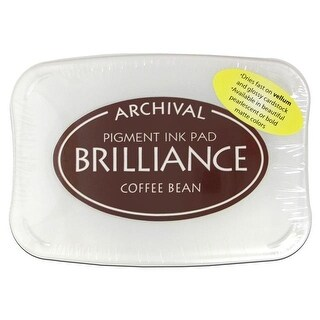 Brilliance Craft Ink Pad Large Coffee Bean