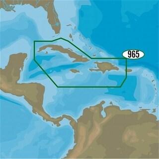 C-Map NA-D965 4D Cuba Dominican Republic Caymans & Jamaica Map