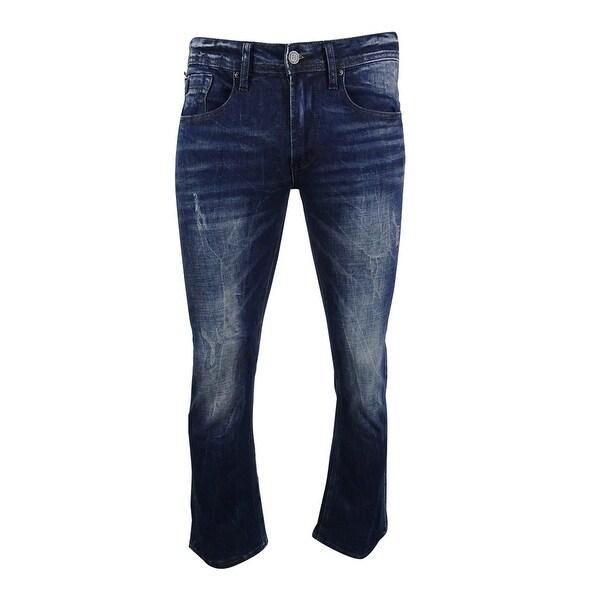 07b99396dea Shop Buffalo David Bitton Men's King Slim Boot Cut Jean Wash (Sanded/Vintage,  31x30) - sanded/vintage - 31x30 - Free Shipping Today - Overstock - 18947374