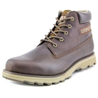 Caterpillar Founder Men  Round Toe Leather  Boot