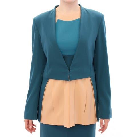 CO TE Blue stretch blazer Women's jacket - it42-m