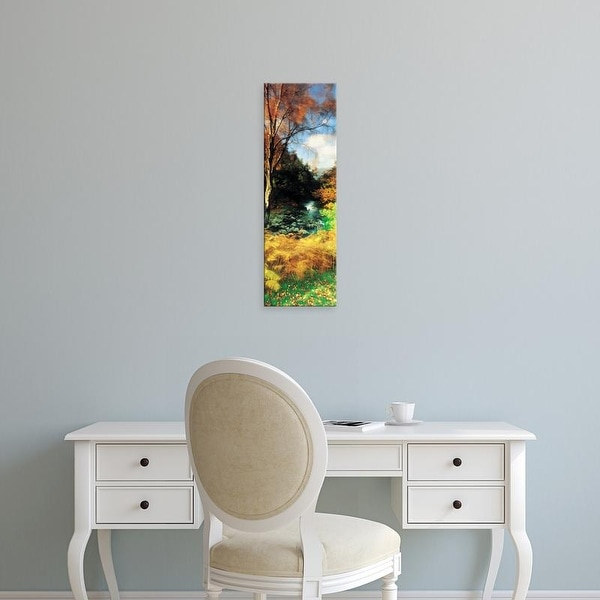 Easy Art Prints Panoramic Images's 'View Of The Valley, Borrowdale, Keswick, Great Britain, United Kingdom' Canvas Art
