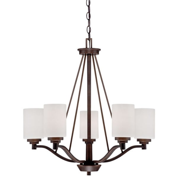 Millennium Lighting 3155 Durham 5-Light 1 Tier Chandelier