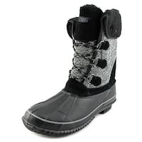 Khombu Womens MAYA Cap Toe Mid-Calf Cold Weather Boots