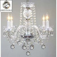 Swarovski Crystal Trimmed Chandelier Lighting Murano Venetian Style All Crystal Chandelier