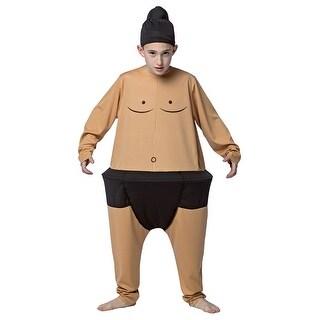 Kids Sumo Hoopster 7-10 Medium Funny Costume - medium (size 7-10)