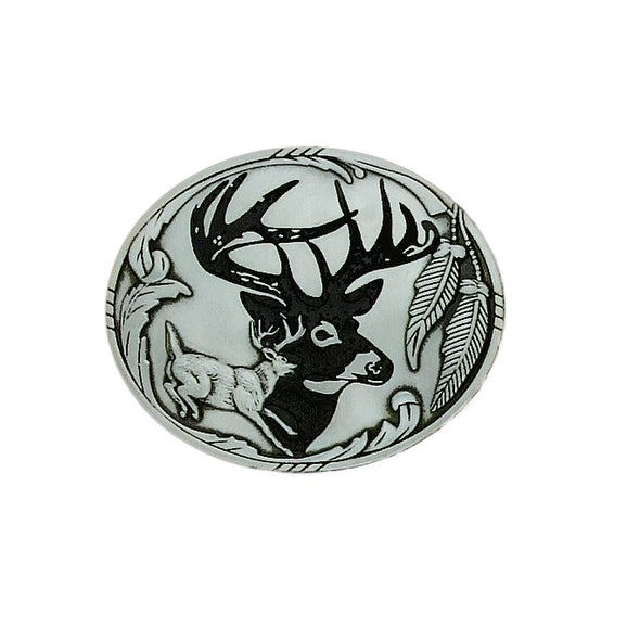 Stag Belt Buckle - One size