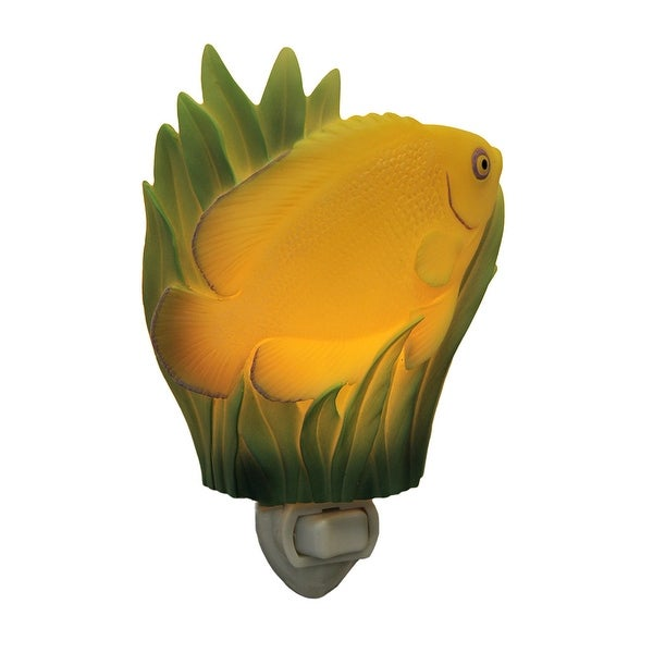 Bright Yellow Lemonpeel Angelfish Plug-In Night Light
