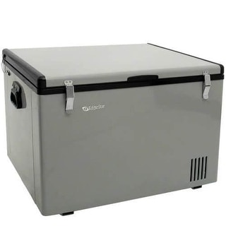 EdgeStar FP630 28 Inch Wide 2.1 Cu. Ft. Portable Fridge/Freezer with 12V DC Power Capability