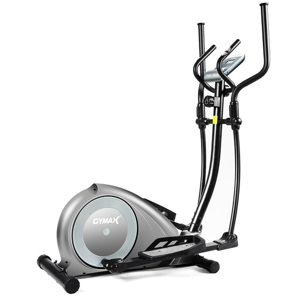 Gymax Magnetic Elliptical Machine Trainer Fitness Exercise Equipment. Opens flyout.
