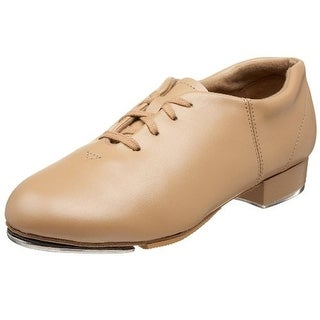 Capezio Womens Leather Front Lace Tap Shoes - 14 medium (b,m)