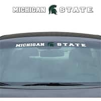 Michigan State Spartans Decal 35x4 Windshield