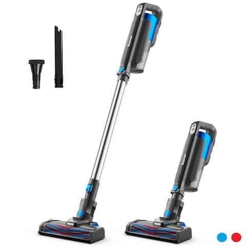 Costway Cordless 6 in 1 Handheld Stick Vacuum Cleaner W/Detachable - 9'' x 6.5'' x 42.5''
