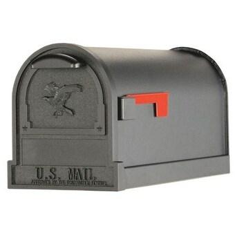 """Solar Group AR15B000 Arlington Deluxe Mail Box, 11"""" x 9-1/2"""" x 23"""", Black"""