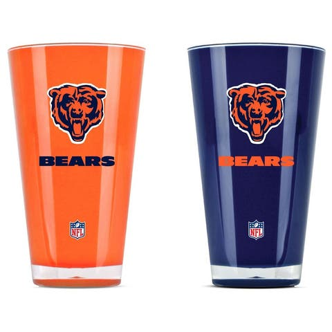 Chicago Bears Tumblers - Set of 2 (20 oz)