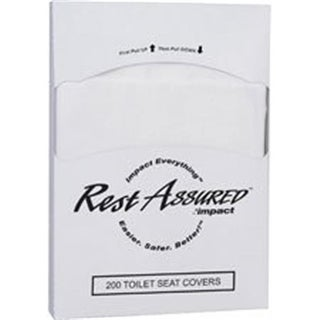 Impact Products IMP25184473 0.25 Fold Toilet Seat Covers - White