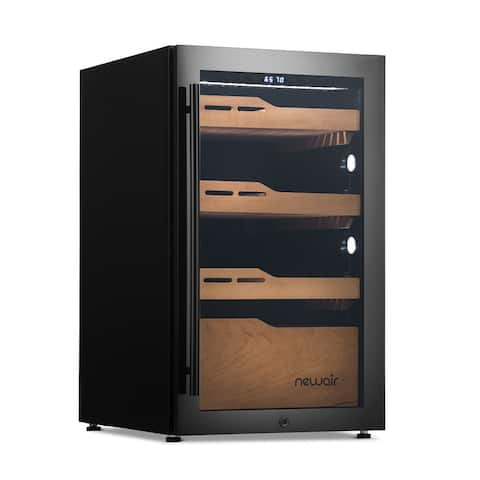 NewAir 840 Count Electric Cigar Humidor, Built-in Humidification System with Opti-Temp Heating and Cooling Function